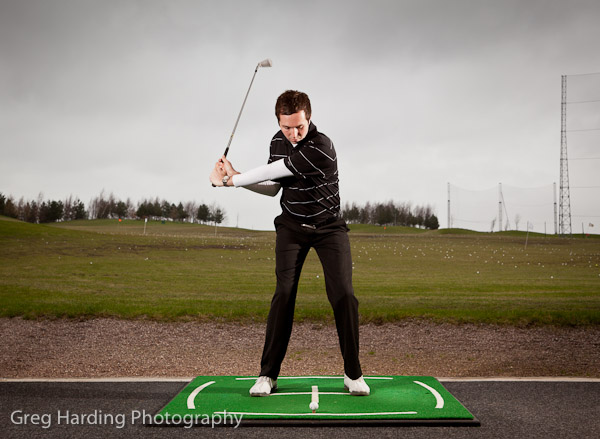golfing sequence