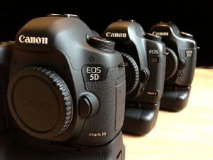 Canon 5D range