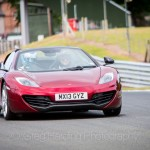 McLaren at speed
