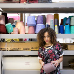 Textiles Student