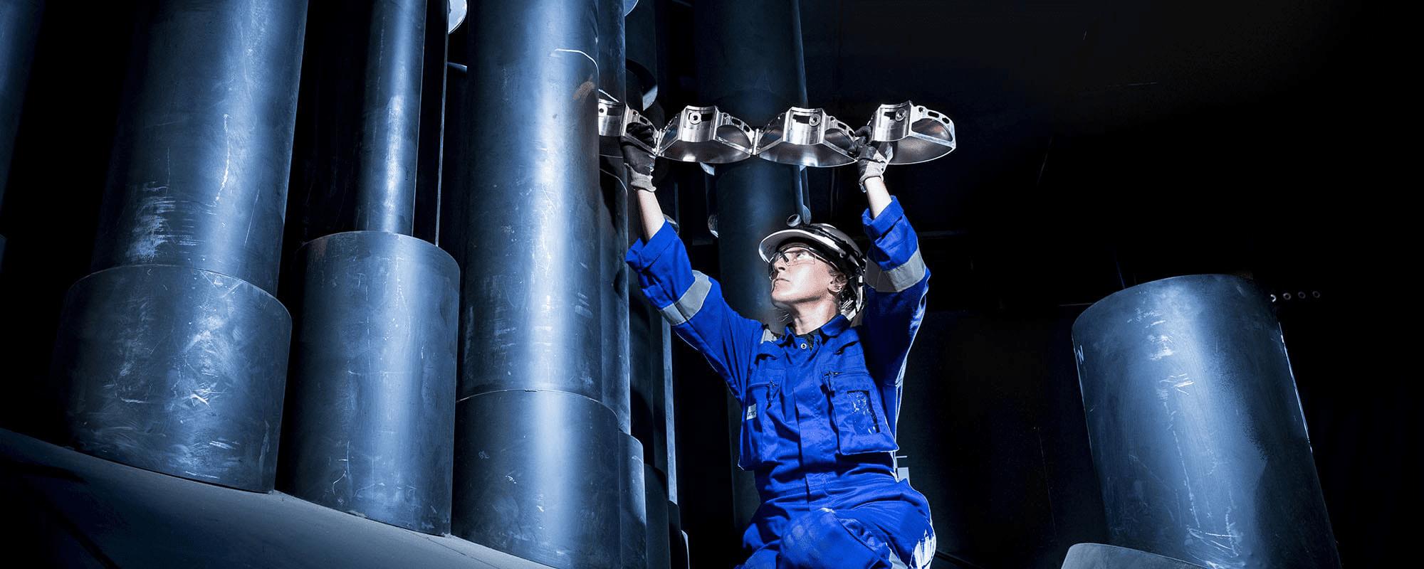 Nuclear & Industrial photographer